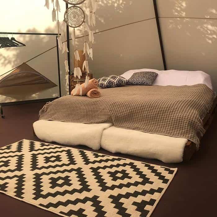 4х местный шатер типи. Загородный отдых в стиле Бохо в Ленобласти. BOHO CAMP