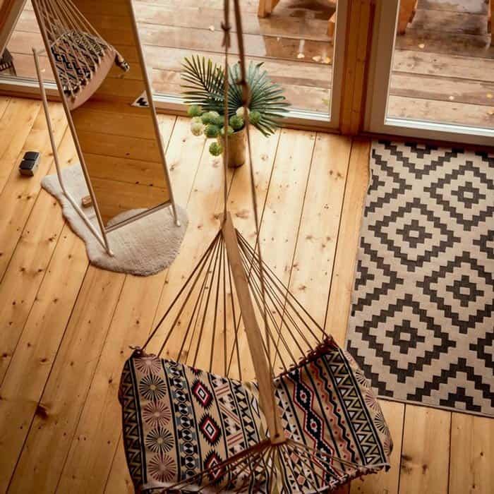 Деревянный домик (до 4х человек). Загородный отдых в стиле Бохо в Ленобласти. BOHO CAMP